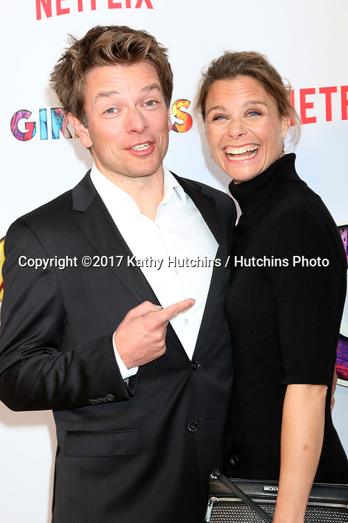 "LOS ANGELES - APR 17:  Christian Ditter, Wife at the ""Girlboss"" Premiere Screening at ArcLight Theater on April 17, 2017 in Los Angeles, CA"