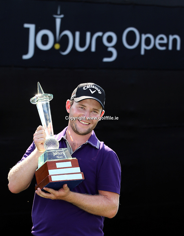 JOHANNESBURG, SOUTH AFRICA - JANUARY 15, Branden Grace during day 4 of the Joburg Open from the Royal Johannesburg and Kensington Golf Club on January 15, 2012 in Johannesburg, South Africa..Photo by Luke Walker www.golffile.ie