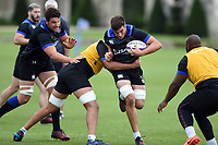 Josh Bayliss of Bath Rugby in action. Bath Rugby pre-season training session on July 28, 2017 at Farleigh House in Bath, England. Photo by: Patrick Khachfe / Onside Images