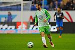 Yunus Malli (VfL Wolfsburg #10) am Ball beim Spiel in der Fussball Bundesliga, TSG 1899 Hoffenheim - VfL Wolfsburg.<br /> <br /> Foto &copy; PIX-Sportfotos *** Foto ist honorarpflichtig! *** Auf Anfrage in hoeherer Qualitaet/Aufloesung. Belegexemplar erbeten. Veroeffentlichung ausschliesslich fuer journalistisch-publizistische Zwecke. For editorial use only.