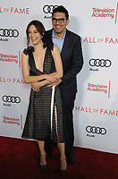 www.acepixs.com<br /> <br /> November 15 2017, LA<br /> <br /> Actress Emmy Rossum (L) and director Sam Esmail arriving at the Television Academy's 24th Hall of Fame Ceremony at the Saban Media Center on November 15, 2017 in Los Angeles, California.<br /> <br /> By Line: Peter West/ACE Pictures<br /> <br /> <br /> ACE Pictures Inc<br /> Tel: 6467670430<br /> Email: info@acepixs.com<br /> www.acepixs.com