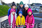 At the Family Walk & Fun Run in aid of Miltown Listry LGFA and the Nagle Rice Primary School in Milltown on Sunday. Front l to r: Faye and Aaron Coffey and Sarah Ryan.<br /> Back l to r: Nessa Griffin, Mike and Ide Ryan.