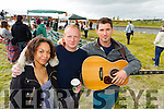 Pictured at the Wetlands Music Festival on Saturday, were l-r: Saffron Williams, Danny Sparkes, Evan and Frost (Ballybunion).