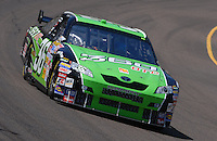 Apr 19, 2007; Avondale, AZ, USA; Nascar Nextel Cup Series driver Jeremy Mayfield (36) during practice for the Subway Fresh Fit 500 at Phoenix International Raceway. Mandatory Credit: Mark J. Rebilas