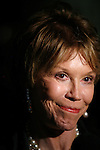 Mary Tyler Moore<br />attending the book Party for the debut release of Bernadette Peter's BROADWAY BARKS at Le Cirque Restaurant in New York City.<br />May 12, 2008