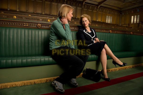 Phyllida Lloyd (director) & Meryl Streep.on the set of The Iron Lady (2011).*Filmstill - Editorial Use Only*.CAP/NFS.Supplied by Capital Pictures.