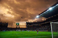 Storm clouds at the Estadio Metropolitano during the Copa America 2007, in Barquisimeto, Venezuela on July 5, 2007. Columbia defeated the USA, 1-0.