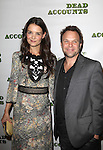 Katie Holmes & Norbert Leo Butz attending Broadway Opening Night Performance After Party for 'Dead Accounts' at Gotham Hall in New York City. November 29, 2012.