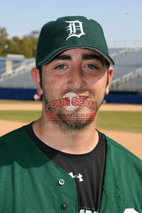 March 23, 2010:  Pitcher Ryan Smith of the Dartmouth Big Green after a game at the Chain of Lakes Stadium in Winter Haven, FL.  Photo By Mike Janes/Four Seam Images