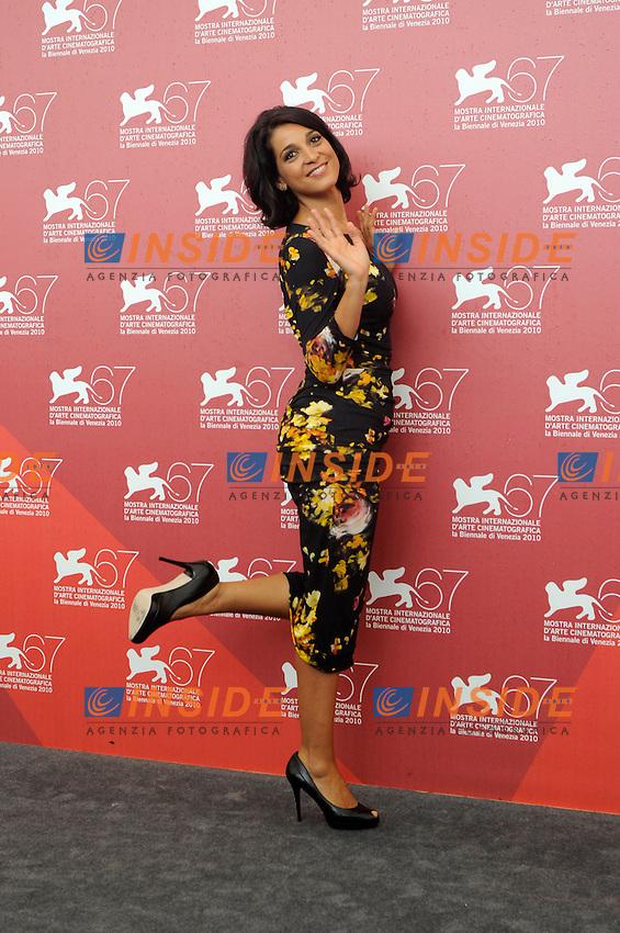 """- """"67 Mostra Internazionale D'Arte Cinematografica"""". Friday, 2010 September 03, Venice ITALY..- In The Picture: The actress Donatella Finocchiaro at the photocall for the film """"I BACI MAI DATI""""...Photo STEFANO MICOZZI / Insidefoto"""