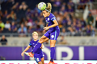 Orlando, FL - Saturday September 10, 2016: Monica Hickman Alves during a regular season National Women's Soccer League (NWSL) match between the Orlando Pride and Sky Blue FC at Camping World Stadium.