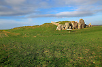 West Kennet neolithic long barrow, Wiltshire, England