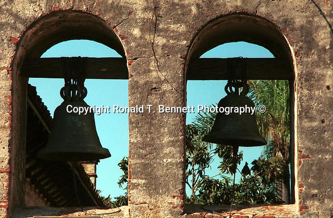 Bells Mission San Juan Capistrano Spanish Catholics of Franciscan Order California, Fine Art Photography by Ron Bennett, Fine Art, Fine Art photography, Art Photography, Copyright RonBennettPhotography.com ©