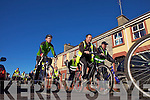 Local support for Emmets GAA  at the cycle run last Sunday morning in  Listowel..