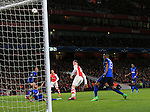 Arsenal's Olivier Giroud puts a good chance over the bar<br /> <br /> Champions League - Arsenal  vs AS Monaco  - Emirates Stadium - England - 25th February 2015 - Picture David Klein/Sportimage