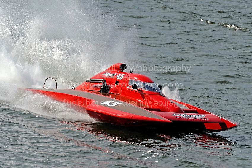 """Pat Hewitt, E-45 """"Hewitt Motorsports""""  (5 Litre class hydroplane(s)"""