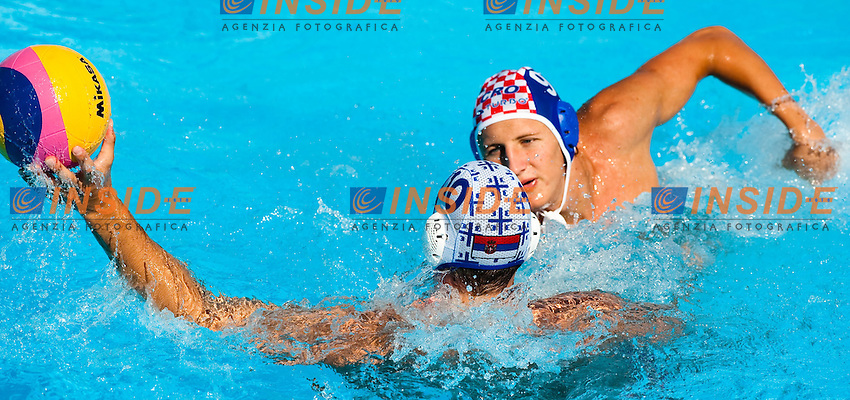 Roma 30th July 2009 - 13th Fina World Championships From 17th to 2nd August 2009.Water Polo Men.Semifinal..SRB 12 - 11 CRO..photo: Roma2009.com/InsideFoto/SeaSee.com