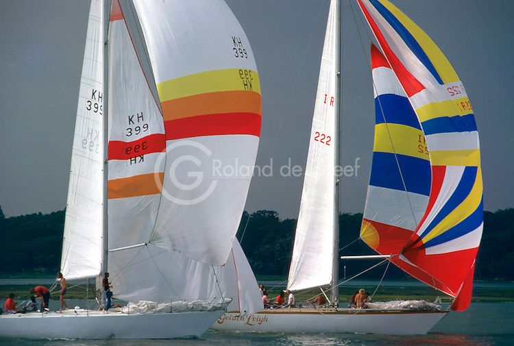 Semaine de Cowes 1977, White Rabbit & Golden Leigh.