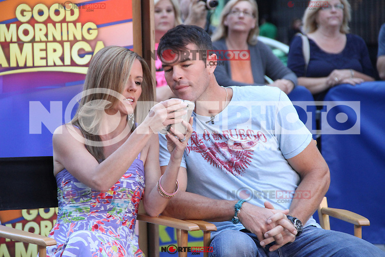 NEW YORK, NY - SEPTEMBER 10: Trista Sutter and Ryan Sutter at Good Morning America in New York City. ©RW/MediaPunch Inc. /NortePhoto.com<br /> <br /> **CREDITO*OBLIGATORIO** *No*Venta*A*Terceros*<br /> *No*Sale*So*third*...