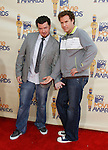 UNIVERSAL CITY, CA. - May 31: Actors Danny McBride and Will Ferrell arrive at the 2009 MTV Movie Awards held at the Gibson Amphitheatre on May 31, 2009 in Universal City, California.