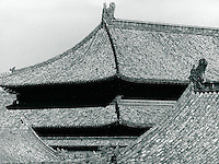 Im Kaiserpalast in Peking, China 1989