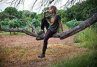 AZ wine- 8/12/09- Eric Glomski is the director of winemaking at Page Springs Cellars in the Verde Valley of Central Arizona. (Pat Shannahan/ The Arizona Republic)