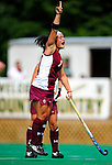 28 August 2009: Boston College Eagles' forward Chelsey Feole, a Senior from Windham, NH, in action against the University of Vermont Catamounts at Moulton Winder Field in Burlington, Vermont. The Eagles shut out the Catamounts 3-0 in both teams' first game of the 2009 season. Mandatory Photo Credit: Ed Wolfstein Photo