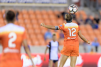 Houston, TX - Saturday July 15, 2017: Amber Brooks during a regular season National Women's Soccer League (NWSL) match between the Houston Dash and the Washington Spirit at BBVA Compass Stadium.
