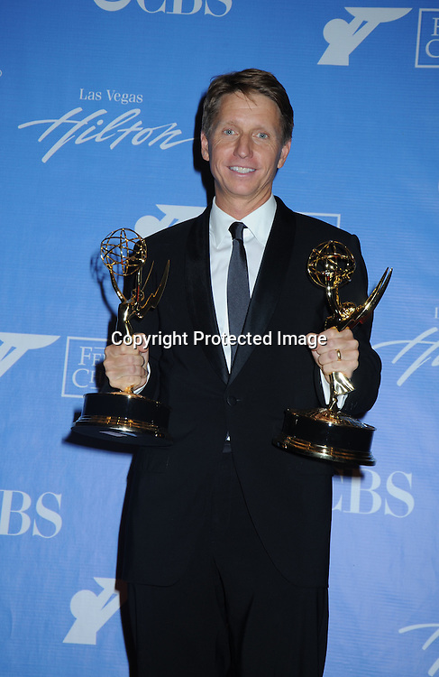 Bradley Bell posing in the press room from the Daytime Emmy Awards on June 27, 2010 at the Hilton at Las Vegas in Nevada.