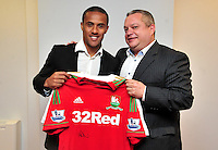 Swansea city fc sponsor awards... saturday 19th may 2013...<br /> <br /> <br /> <br /> Wayne Routledge.