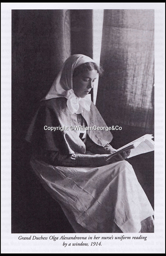 BNPS.co.uk (01202 558833)<br /> Pic: WilliamGeorge&Co/BNPS<br /> <br /> Grand Duchess Olga Alexandrovna in her nurse's uniform in 1914.<br /> <br /> A remarkable series of letters from one of the surviving Romanovs have been unearthed which reveal her 'hate' towards the Allies in the aftermath of the Russian Revolution.<br /> <br /> The Grand Duchess Olga Alexandrovna - the younger sister of Tsar Nicholas II - penned more than 50 letters to her sister Xenia between 1916 and 1920 which provide a fascinating insight into the perilous existence of the Romanovs, the last Russian royal family.<br /> <br /> The letters were written mostly in English to get past the censors since the Romanovs lived in constant fear of assassination by Bolshevik forces.