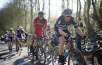 Ian Stannard (GBR/Sky) up the Karnemelkbeekstraat<br /> <br /> E3 - Harelbeke 2016