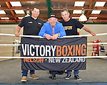 Billy Graham talk at Victory Boxing, 13th September 2014, Nelson, Photo: Barry Whitnall / shuttersport.co.nz