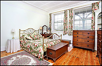 BNPS.co.uk (01202 558833)<br /> Pic: Riverhomes/BNPS<br /> <br /> One of the bedrooms..<br /> <br /> Buy a bit of London Pride...Red Lion House was once the pub attached to the famous Fullers brewery in Chiswick.<br /> <br /> Yours for &pound;8million - Beer fans with deep pockets will want to get their hands on this famous former pub - as it's all but attached to the historic Fullers brewery by the Thames in Chiswick.<br /> <br /> Red Lion House, on exclusive Chiswick Mall in west London, was originally built as a pub more than 300 years ago for Thomas Mawson's brewery, which went on to become Fuller's in 1845.<br /> <br /> Back in the 18th and 19th centuries, the pub would have been a bustling hive of activity with boat crews and carters as regular customers, but it is now a tranquil and elegant riverside home.<br /> <br /> It does have an incredible wine cellar with a barrelled ceiling that is perfect for hosting parties if the new owners want to play publican.