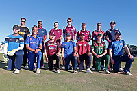 The Premier Leagues XI pose for a team photograph during Essex Eagles vs Premier Leagues XI, Friendly Match Cricket at The Cloudfm County Ground on 2nd July 2018