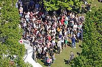 Nederland Rotterdam 2018.  Bevrijdingsfestival ZH op 5 mei in Het Park.  Drukte bij de munten verkoop.  Foto Berlinda van Dam / Hollandse Hoogt