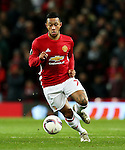 Memphis Depay of Manchester United during the UEFA Europa League match at Old Trafford, Manchester. Picture date: November 24th 2016. Pic Matt McNulty/Sportimage