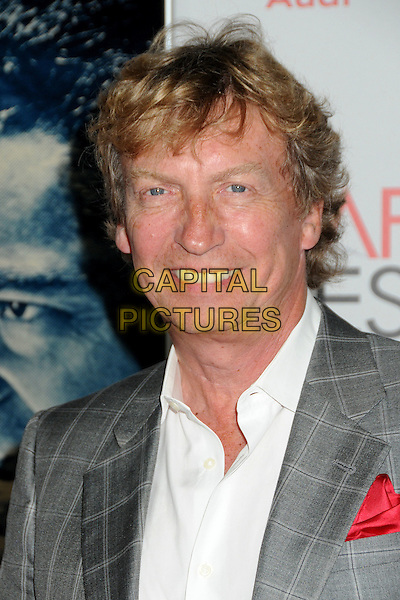 "Nigel Lythgoe.AFI Fest 2011 Opening Night Gala Premiere of ""J. Edgar"" held at Grauman's Chinese Theatre, Hollywood, California, USA..November 3rd, 2011.headshot portrait check white shirt grey gray suit  .CAP/ADM/BP.©Byron Purvis/AdMedia/Capital Pictures."