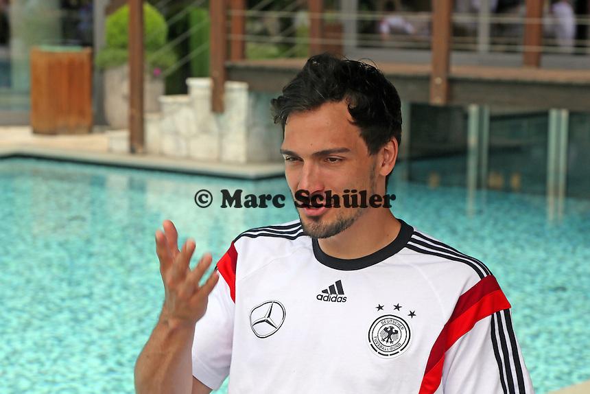 Mats Hummels - Media Day der Deutschen Nationalmannschaft zur WM-Vorbereitung in St. Martin