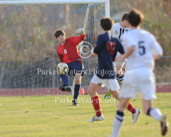 Episcopal High School of Baton Rouge defeats St. Martin's Episcopal 1-0 in boy's soccer.