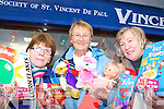 Patricia Lyne, Margaret Cremin  and Mary Healy from the Killarney St Vincent de Paul charity shop appealing for people to give generously this Christmas   Copyright Kerry's Eye 2008