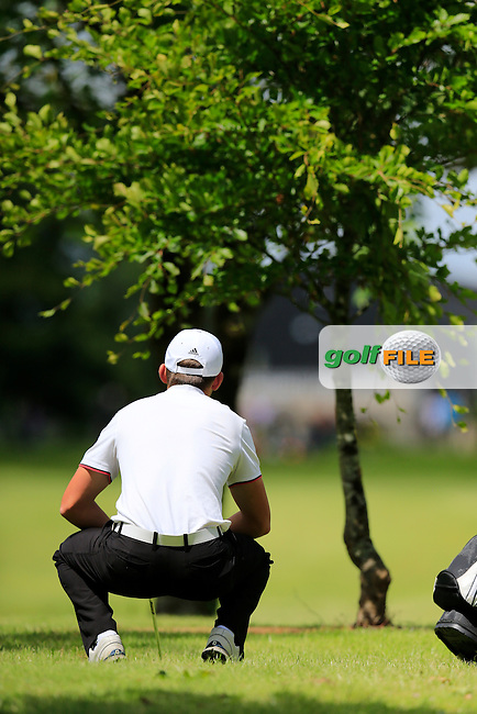 Gian-Marco Petrozzi (England) during the final round of the 2015 Irish Boys Amateur Open Championship, Tuam Golf Club, Tuam, Co Galway. 26/06/2015<br /> Picture: Golffile | Fran Caffrey