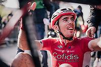 Christophe Laporte (FRA/Cofidis) wins the 35th Tro Bro Leon 2018<br /> <br /> 1 Day Race: Le Carpont - Lannilis (FRA/203km)