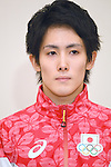 Ryohei Kato (JPN), <br /> JULY 19, 2016 - Artistic Gymnastics : <br /> Japan Men's Artistic Gymnastics national team send-off press conference <br /> for the Rio 2016 Olympic Games in Tokyo, Japan. <br /> (Photo by AFLO SPORT)