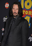"Keanu Reeves 039 arrives at the premiere of Disney and Pixar's ""Toy Story 4"" on June 11, 2019 in Los Angeles, California."
