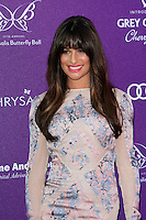 Lea Michele attending the 11th Annual Chrysalis Butterfly Ball held at a private residence in Los Angeles, California on 9.6.2012..Credit: Martin Smith/face to face /MediaPunch Inc. ***FOR USA ONLY*** NORTEPHOTO.COM