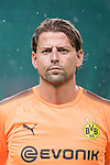 Borussia Dortmund Goalkeeper Roman Weidenfeller getting into the field during the International Champions Cup 2017 match between AC Milan vs Borussia Dortmund at University Town Sports Centre Stadium on July 18, 2017 in Guangzhou, China. Photo by Marcio Rodrigo Machado / Power Sport Images
