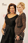 LOS ANGELES, CA - JUNE 07: Marcia Gay Harden and Melanie Griffith arrive at the 40th AFI Life Achievement Award honoring Shirley MacLaine at Sony Pictures Studios on June 7, 2012 in Los Angeles, California.