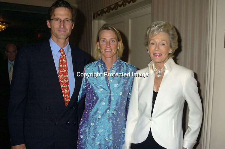 Angier Biddle Duke and wife Idoline anr Robin Chandler Duke ..at the Boys & Girls Harbor, Inc's 13rd Annual Salute to Achievement on May 10, 2005 at The Waldorf Astoria Hotel. ..Photo by Robin Platzer, Twin Images