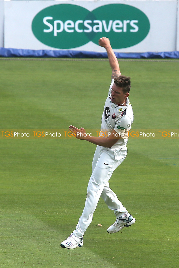 Kent's Harry Podmore celebrates taking the wicket of Surrey batsman, Scott Borthwick during Surrey CCC vs Kent CCC, Specsavers County Championship Division 1 Cricket at the Kia Oval on 7th July 2019
